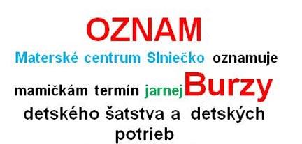 48e1c1021b01 Burza detského oblečenia v MC Slniečko - Vranovské televízne noviny
